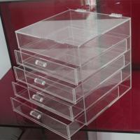 Quality Hot clear 6 drawer  perspex / acrylic makeup organizer for wholesale wholesale