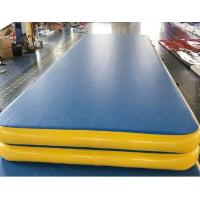 Quality 0.9mm Thickness Gymnastics Air Mat , Inflatable Air Track For Physical Training wholesale