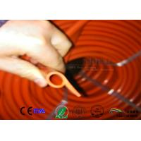 Cheap P shaped Closed Cell Silicone Sponge Strips,P shaped red color silicone profile for sale