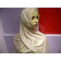 Quality Embroidered Hijab Silk Scarf (HP-C2635) wholesale