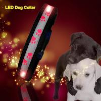 Quality C903 Wholesale Factory Christmas Flashing Lights Usb Rechargeable Light Up Led Dog collars wholesale