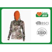 Quality Customized Style Camo Hoodie Sweatshirt Long Sleeve Anti - Pilling wholesale