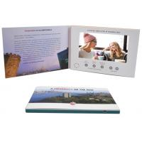 Quality Promo Advertising A5 7'' Digital Catalogue Card Lcd Screen Video Greeting Brochure For Wedding Invitation wholesale