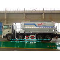 Quality High Charge Efficiency 15 Ton HOWO Mining Dump Truck Mixed Ammonium Explosive 450 Kg / Min wholesale