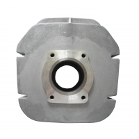 China High Quality Y125Z 53.8/57/62MM Motorcycle Cylinder Block/Engine Block ,Aluminum,Silver Color on sale