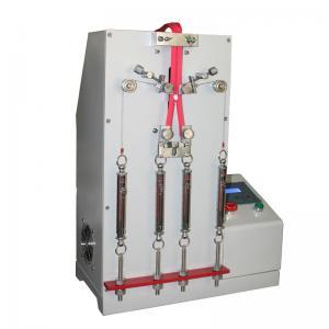 China Slide Fasteners Reciprocating Shoe Testing Machine / Shoes Zipper Fatigue Tester on sale