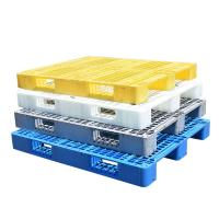China Reversible plastic pallets for beverage beers stacking on sale