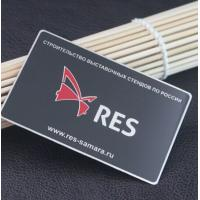 Buy cheap Stainless Steel Customised Design Black Metal Business Card from wholesalers