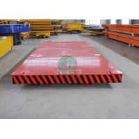 Quality Electric Rail Transfer Trolley for Valve and Pipe Handling in Oil and Gas Industry wholesale