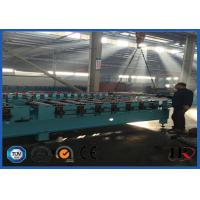 Quality Roofing / Wall Panel Sheet Metal Roll Forming Machines With Upright Columns wholesale