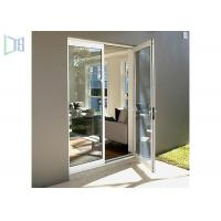 Quality Glass Hinged Aluminium Casement Door For Commercial and Residential wholesale