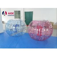 Quality PVC Durable Inflatable Ball Game Bubble Soccer Life Sized Hamster Ball 6Ft wholesale