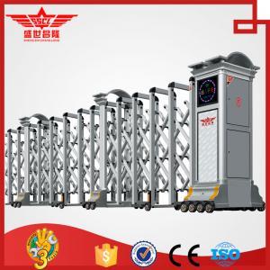 Quality Residential aluminum doors external gate expandable barrier door -L1521 wholesale