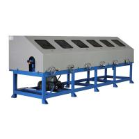Quality Six groups tube polishing machine Various polishing the outer surface of the pipe wholesale