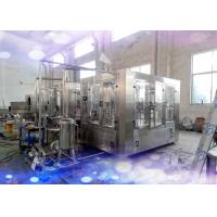 China CE / SGS Rotary 3 in 1 Juice Production Line 6000 Bottles Per Hour on sale