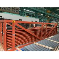 China Economizer Upper Bundle High Temperature Superheater Coils With Shield 100%PT Test on sale