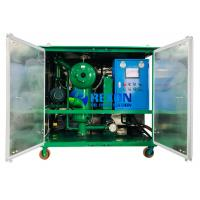 China 2000LPH Double Vacuum Oil Purifier for Insulating Oil Filtration Treatment on sale