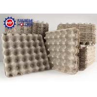 Quality Paper Egg Tray Machine 30 Holes Molded Pulp Tooling wholesale