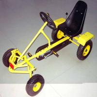 China Pedal Go Cart, Sand Beach Cart, with adjustable seat position on sale
