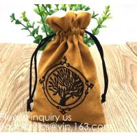China Black Velveteen Sack Pouch Bags for Jewelry, Gifts, Event Supplies,cell phones, small electronics or used at pencils pou on sale