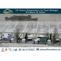 China clear roof party tent for 300 people clear wedding tent with