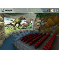 Quality Large 360 Degree Screen 4D Movie Theater With 4D Simulator Can Hold 60-100 People wholesale