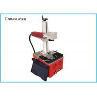Quality 220V Raycus Fiber Laser Marking Machine For Fabric , Long Service Life wholesale