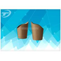 Buy cheap Selectable Printing Disposable Paper Cups For Coffee / Tea / Hot Chocolate from wholesalers