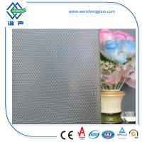 Quality Decoration Flat Patterned Glass for doors and toilet With CE and CCC Certificate wholesale