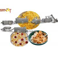 Quality Sus NSK Bearings Breakfast Cereal Production Line Making Corn Flakes wholesale