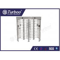 Quality 304 stainless steel dual lane full body turnstile gate with 120 degree revolving wholesale