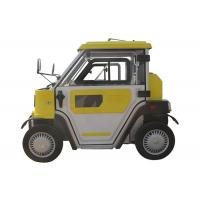 China 120Ah Gel Battery 2 Seats 4 Wheel Drive Electric Car , 2.8KW Smart Auto Electric Car on sale