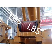 Quality Electric / Hydraulic Crawler Crane Winch Crane Windlass Groove Drum wholesale