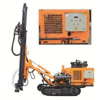 China DTH rock well drill rig KG430SH Punching machine for hard rock rotary drilling rig on sale