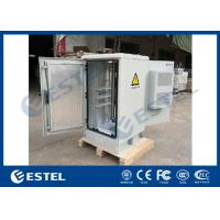 """China 19"""" Mounting Rack Air Conditioner Cooling System Outdoor Telecom Cabinet With Two Access Doors on sale"""
