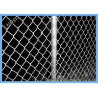 China Green Vinyl Coated Chain Link Fence Panel For Farm 5mm Wire Dia on sale