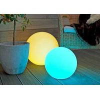Quality Outdoor Solar Energy Garden LED Ball Lights With Automatic Colors Changing wholesale