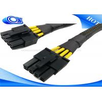 Quality Black HDMI Active Optical Cable , 15 Pin Male to Molex IDE 4 Pin Power Cable wholesale