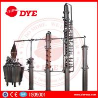Quality 100% Red Copper Whisky Distilling Equipment Vodka Alcohol Distillation Process wholesale