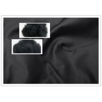 Quality Regenerated Black Polyester Fiber For Spinning / Fabric 1.4 Denier / 1.55 Dtex wholesale