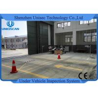Quality Fixed Uvss Under Vehicle Surveillance System UV300F with High Speed Scanning wholesale