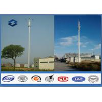 Quality Microwave Mobile Cell Phone Tower Telecommunication pole HDG & Powder Coated wholesale