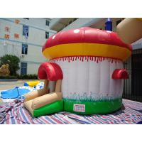 Quality Dome Tarpaulin Inflatable Jumping Castle / customized inflatable bounce house wholesale
