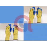 Quality String Knit Aramid Cut Resistant Work Gloves For Mechanical Cutting Process wholesale