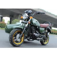 Quality 200cc Off Road Side Car Motorcycle for Delivery, Ambulance, Loading Passenger and Fruits wholesale
