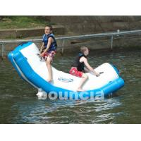 Quality Inflatable Water Totter With Stainless Steel Anchor Rings For Kids wholesale