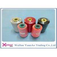 Quality 60s/2 Plastic Cone 100% Polyester Sewing Thread 10000m Brown Red Black Spun Yarn wholesale