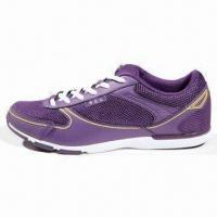 Quality Women's Sport Shoes with Microfiber/Mesh Upper, Mesh/EVA Insole and Rubber/Phylon/TPU Outsole wholesale