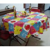 Buy cheap Sell PEVA laminated flannel table cloth from wholesalers