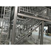 China metal steel structure building platform price on sale